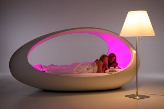 JUST COOLadventure In Design Furniture Sleeping In An Egg - Sleep Furniture
