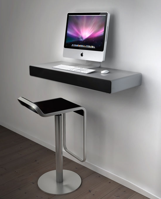 bureau pour imac geek hype. Black Bedroom Furniture Sets. Home Design Ideas