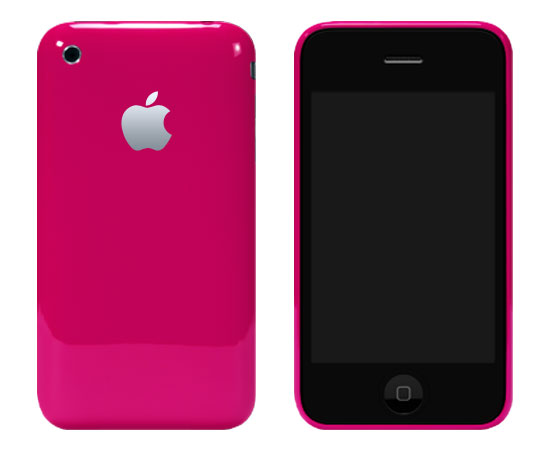 Image iphone3gpink   LiPhone 3G maintenant en rose !