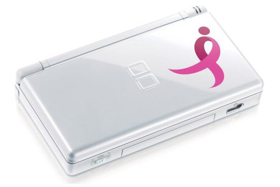 La DS Lite customisée contre le cancer du sein