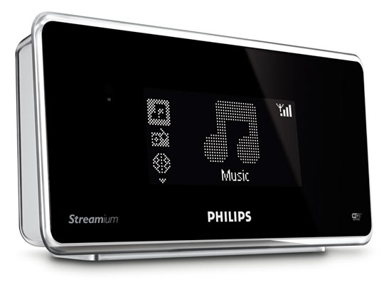 philips streamium np1100 une radio internet chic geek hype. Black Bedroom Furniture Sets. Home Design Ideas