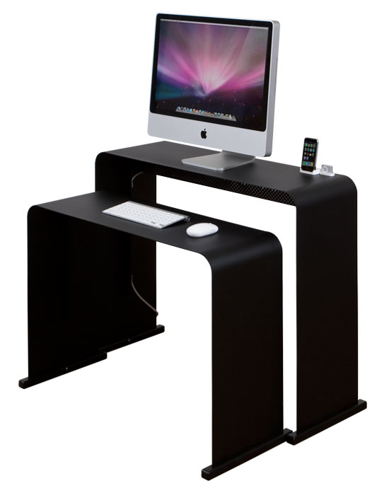 onelessdesk le bureau minimaliste par excellence geek hype. Black Bedroom Furniture Sets. Home Design Ideas