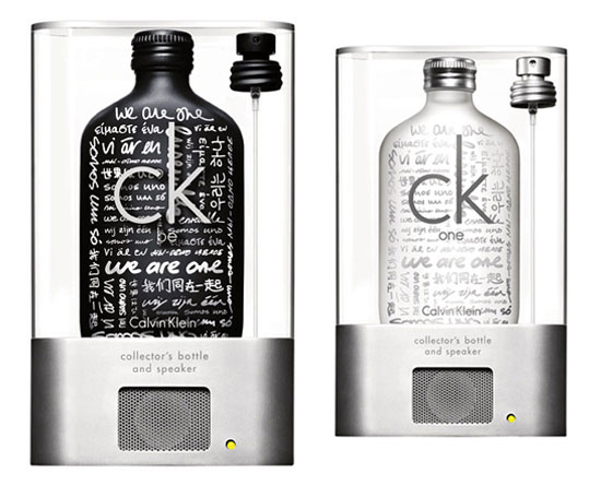 Image ckonemessagebottle   CK Message Bottle : Parfumez vous en musique