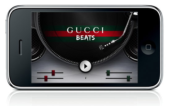GUCCI Beats sur iPhone