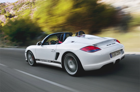 porscheboxsterspyder2011road