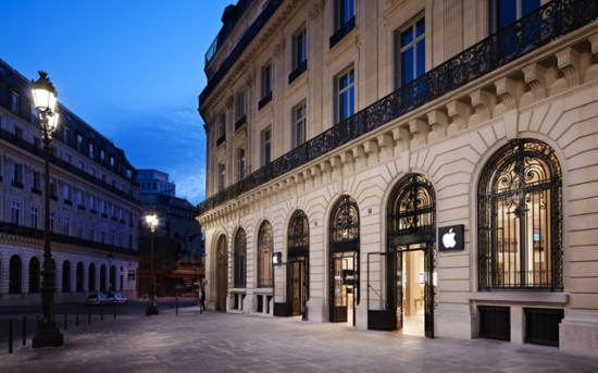 Image apple store opera paris 1 550x343   Apple Store Opra