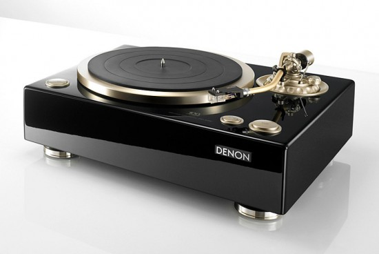 Image denon 100 turntable 550x368   Denon DP A100