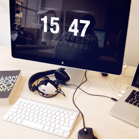 Image flipclock mac screensaver 550x550   FlipClock Screensaver