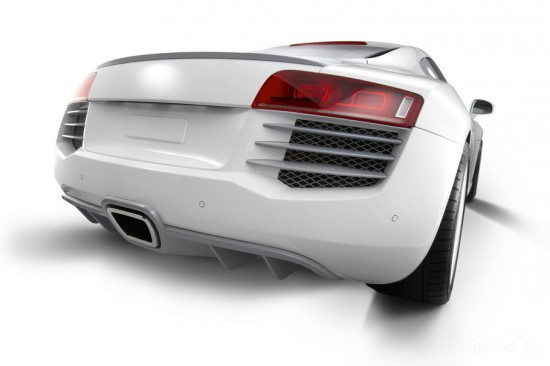 Image audi r8 eisenmann 3 550x366   Audi R8 Spark Eight