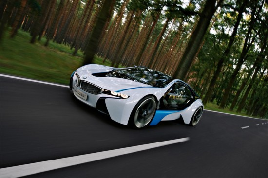 Image bmw vision 2 550x366   BMW Vision EfficientDynamics