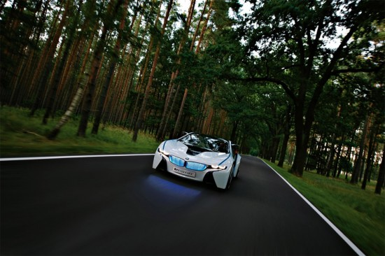 Image bmw vision 6 550x366   BMW Vision EfficientDynamics