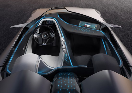 Image bmw vision connecteddrive 12 550x388   BMW Vision ConnectedDrive