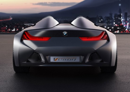 Image bmw vision connecteddrive 8 550x388   BMW Vision ConnectedDrive