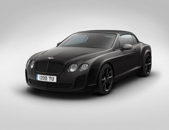 Image bentley supersports isc convertible 1 550x423   Bentley Ice Speed Record Convertible