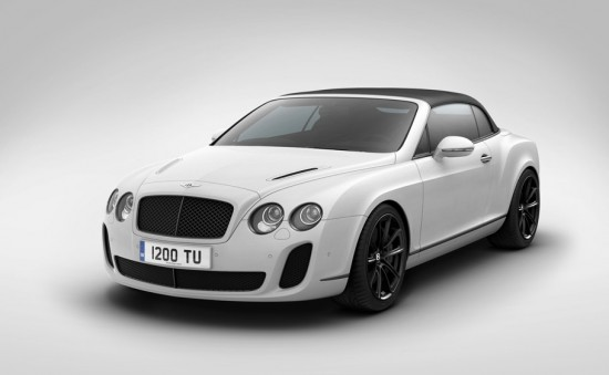 Image bentley supersports isc convertible 2 550x339   Bentley Ice Speed Record Convertible