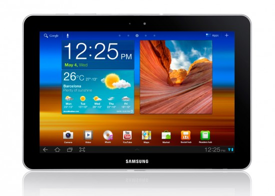 Image samsung galaxy tab 10 1 550x392   Gagnez un Samsung Galaxy Tab 10.1