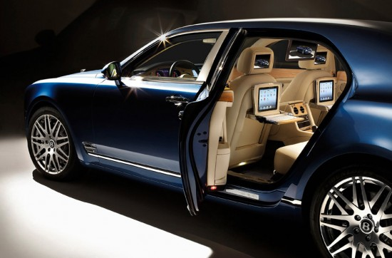 Image bentley mulsanne 550x362   Bentley Mulsanne Executive Interior