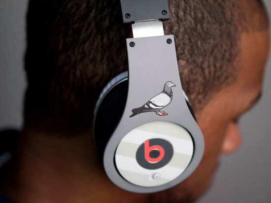 Image pigeon beats 1 550x412   Staple Design x Beats By Dre