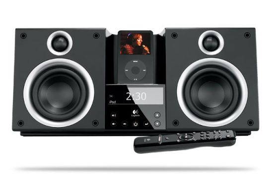 logitech r invente la cha ne hi fi pour ipod geek hype. Black Bedroom Furniture Sets. Home Design Ideas