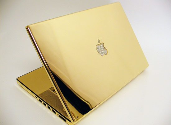 Image macbook   Un MacBook bling bling